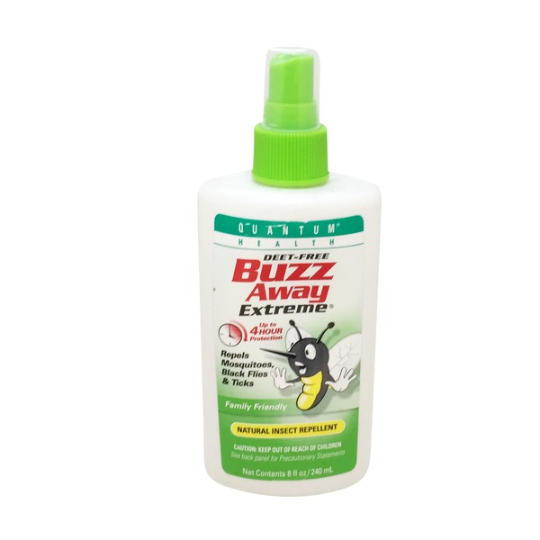 Quantum Deet-Free Buzz Away Extreme Spray