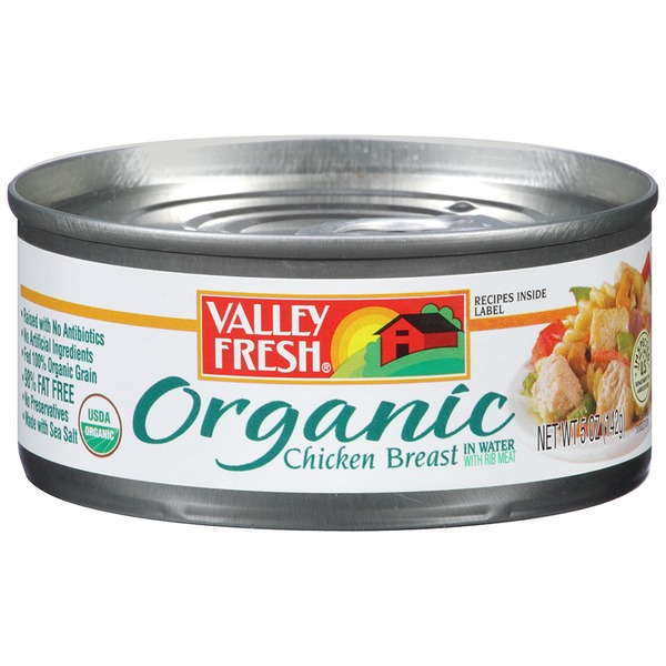 Cuyama Valley Fresh Organic in Water Chicken Breast