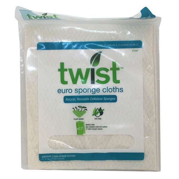 Twist Euro Sponge Cloths