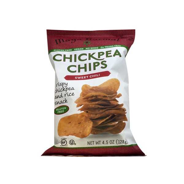 Maya Kaimal Sweet Chili Chickpea Chips