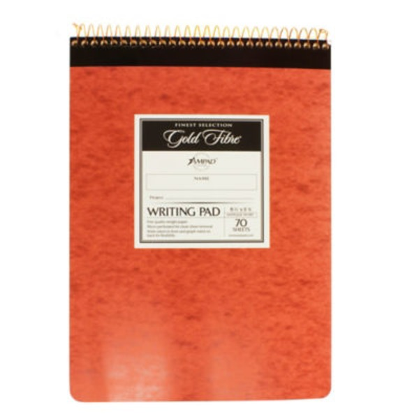 Esselte Gold Fibre Writing Pad 8.5
