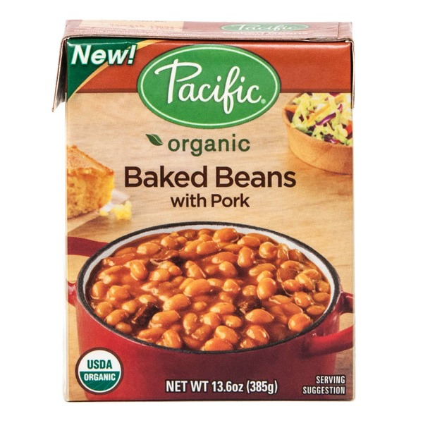 Pacific With Pork Organic Baked Beans