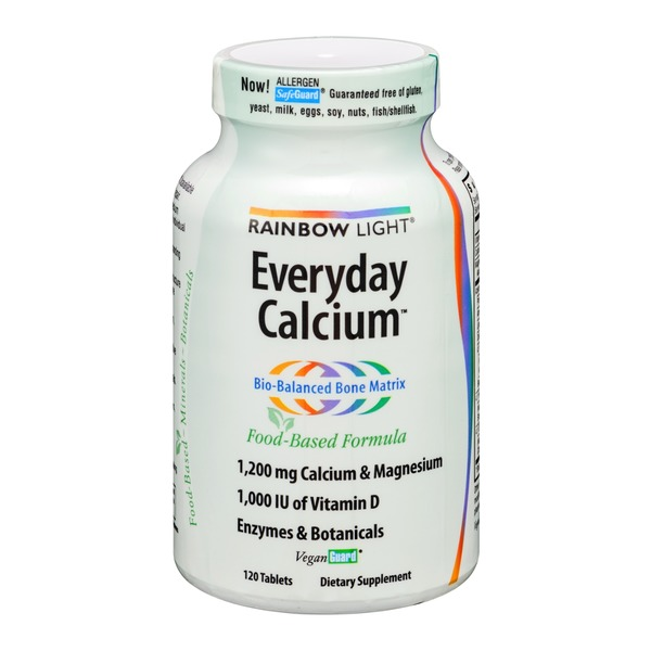 Rainbow Light Everday Calcium Tablets - 120 CT