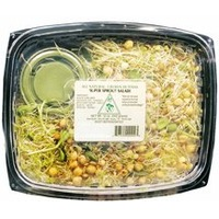 New World Super Sprout Salad With Dressing
