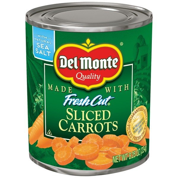 Del Monte Fresh Cut Sliced Carrots
