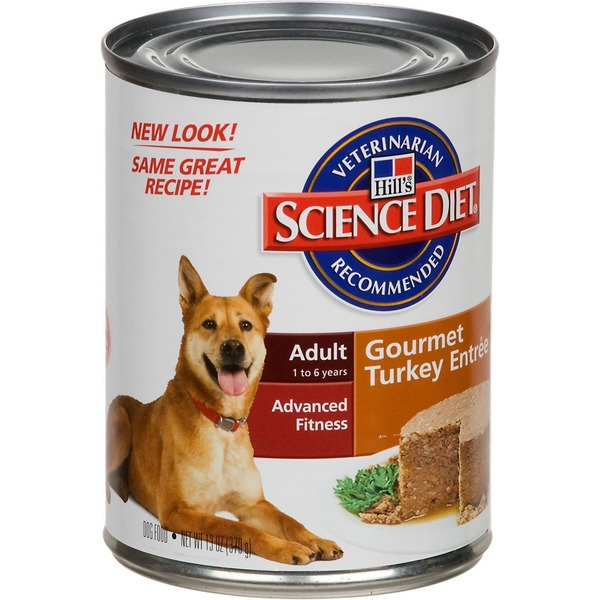 Hill's Science Diet Adult Gourmet Turkey Entree Advanced Fitness Dog Food