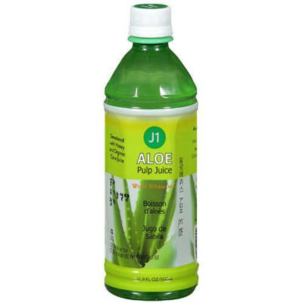 J1 Aloe Chunk Juice with Vitamin C