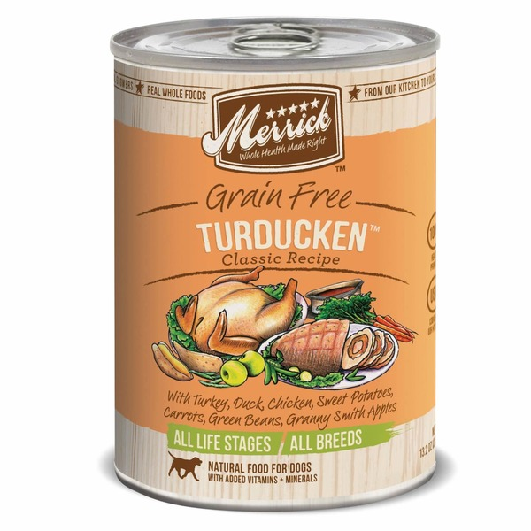 Merrick Classic Grain Free Turducken Canned Dog Food