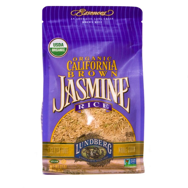 Lundberg Family Farms OG California Brown Jasmine Organic Brown Rice