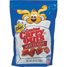 Canine Carry Out Dog Soft and Chewy Beef Dog Treat 25oz