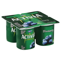 Dannon Activia Yogurt Blueberry - 4
