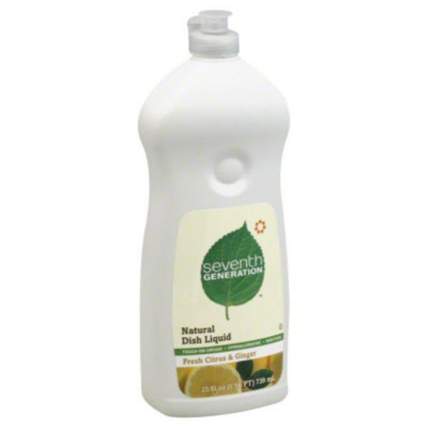 Seventh Generation Natural Fresh Citrus & Ginger Dish Liquid