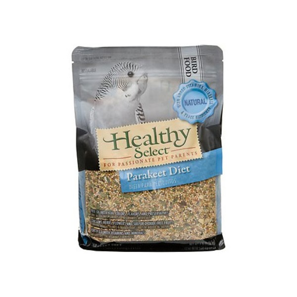 Healthy Select Natural Parakeet Diet