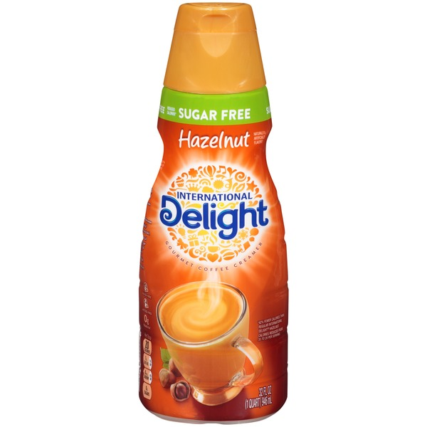 International Delight Sugar Free Hazelnut Coffee Creamer