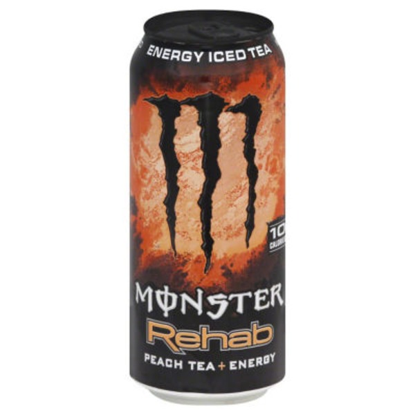 Monster Rehab Energy Iced Tea Peach