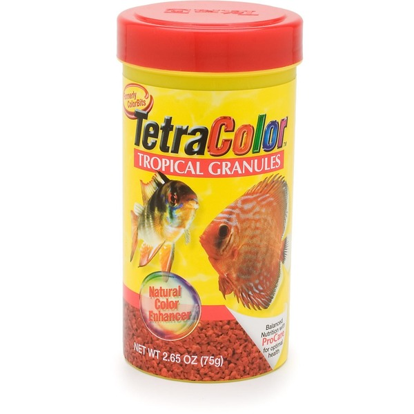 Tetra Color Natural Color Enhancer Tropical Granules