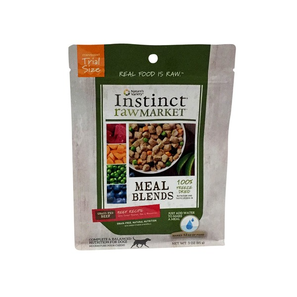Nature's Variety Instinct Raw Market Meal Blends Beef Recipe