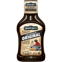KC Masterpiece Original Barbecue Sauce, 18 Ounces