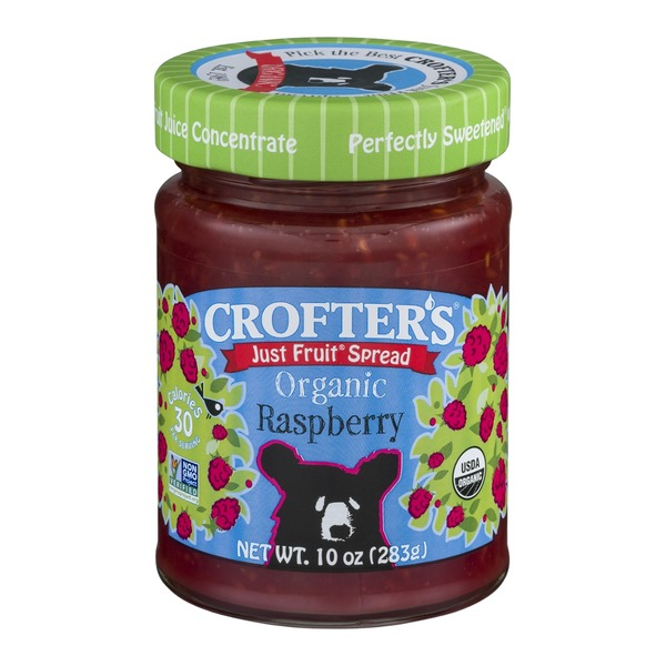 Crofter's Just Fruit Spread Raspberry