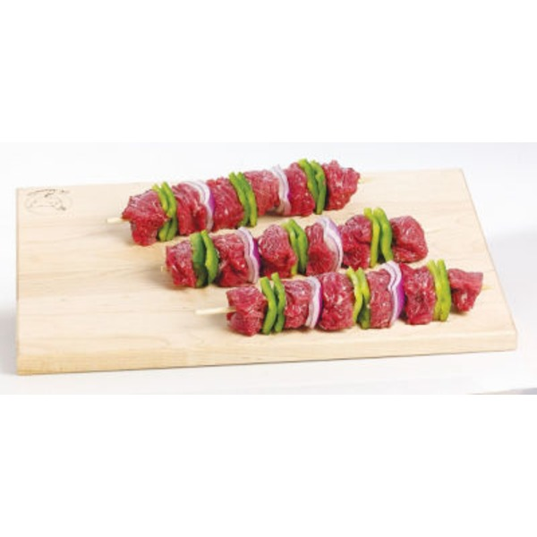 Fresh Beef Kabobs With Vegetables