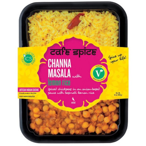 Cafe Spice Channa Masala with Lemon Rice