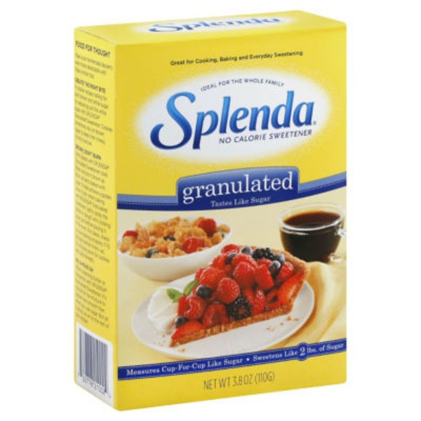 Splenda® Granulated No Calorie Sweetener