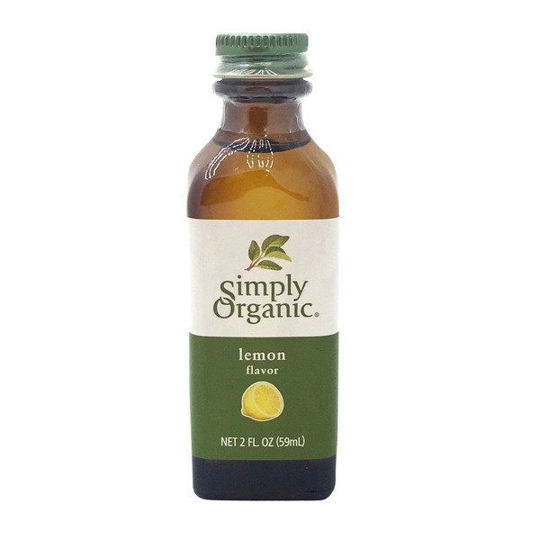 Simply Organic Lemon Flavor
