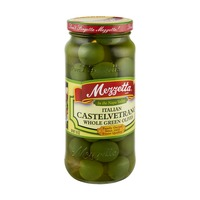 Mezzetta Italian Castelvetrano Whole Green Olives