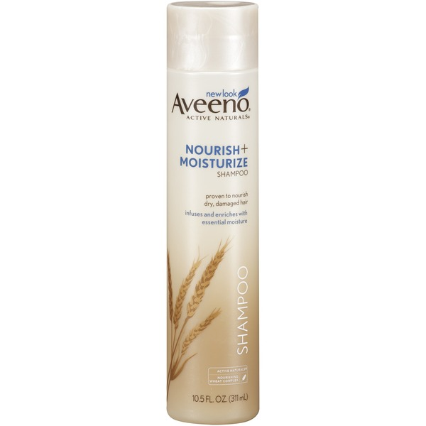 Aveeno® Nourish+ Moisturize Shampoo Hair Care