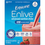 Ensure Enlive Strawberry Advanced Nutrition Shake
