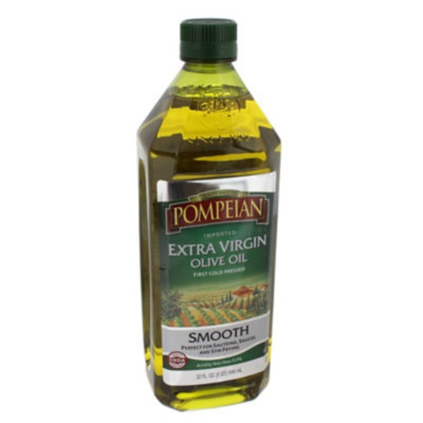 Pompeian Imported Extra Virgin Smooth Olive Oil