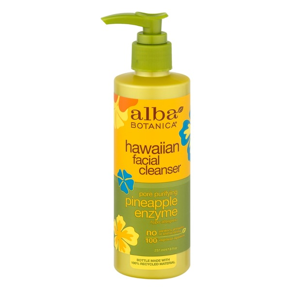 Alba Botanica Natural Hawaiian Facial Cleanser Pineapple Enzyme