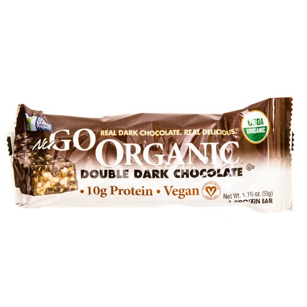 NuGo Organic Double Dark Chocolate Nutrition Bar