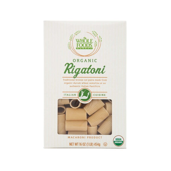 Whole Foods Market Organic Rigatoni