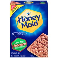 Honey Maid Cinnamon Low Fat Grahams