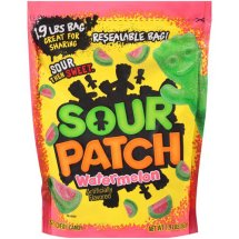 Sour Patch, Watermelon Soft & Chewy Candy, 1.9 Lb