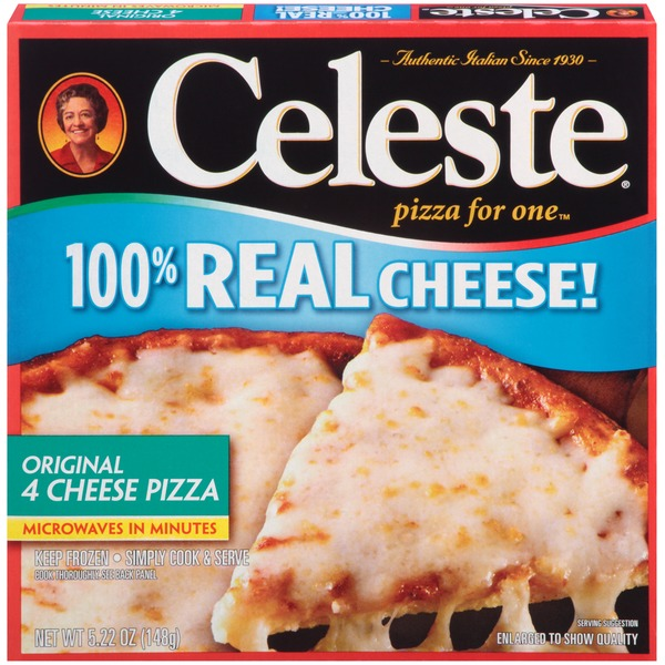 Celeste Pizza for One Original 4 Cheese Frozen Pizza