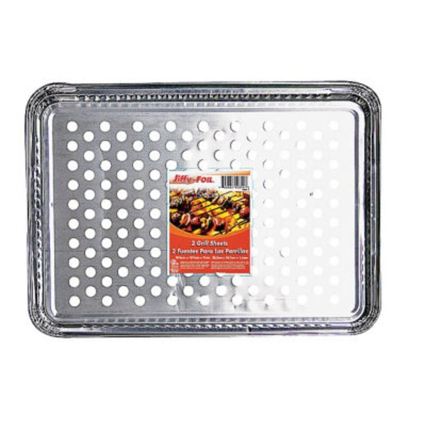 Jiffy Foil Grill Sheets