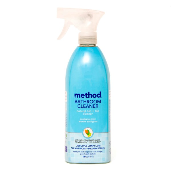 Method Bathroom Cleaner Natural Tub + Tile Cleaner
