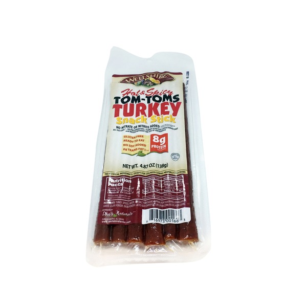 Wellshire Farms Spicy & Hot Tom Tom Snack Stick