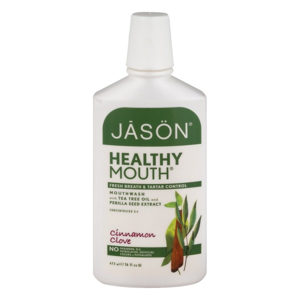 Jason Healthy Mouth Mouthwash Tartar Control Cinnamon Clove