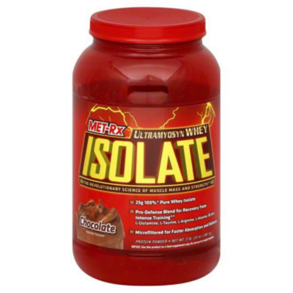 Met Rx Chocolate Ultramyosyn Whey Isolate