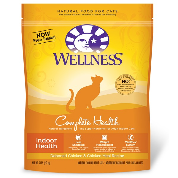 Wellness Complete Health Indoor Health Chicken Cat Food