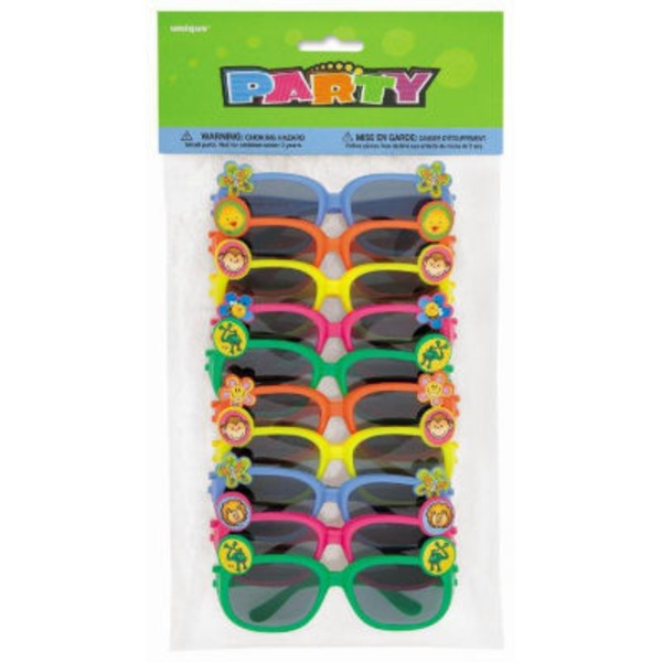 Unique Party Sunglasses, Assorted