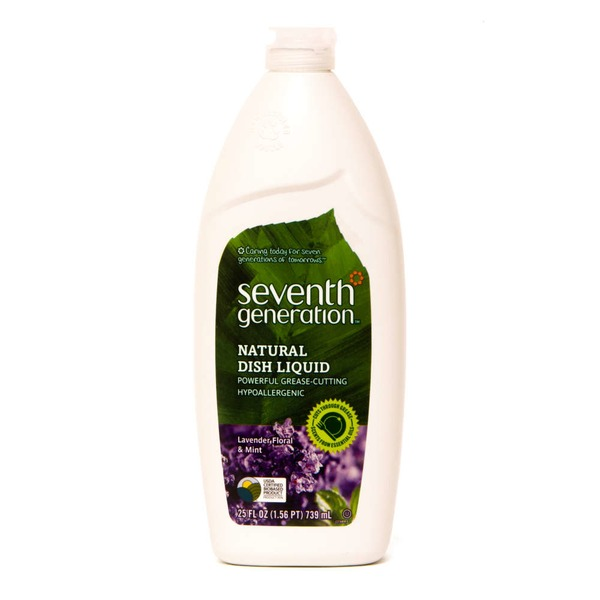 Seventh Generation Natural Lavender Floral & Mint Dish Liquid