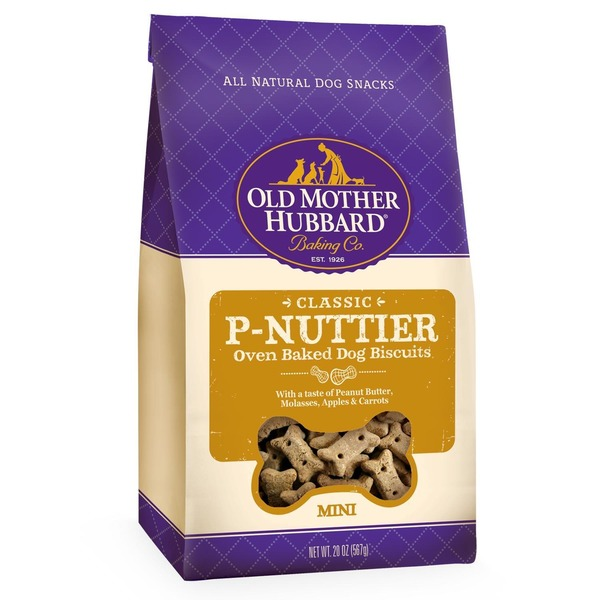 Old Mother Hubbard Classic P-Nuttier Mini Oven-Baked Dog Biscuits