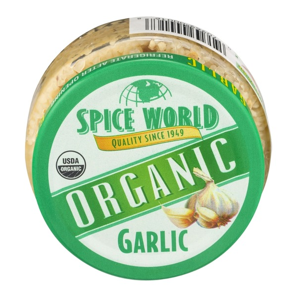 Spice World Organic Garlic