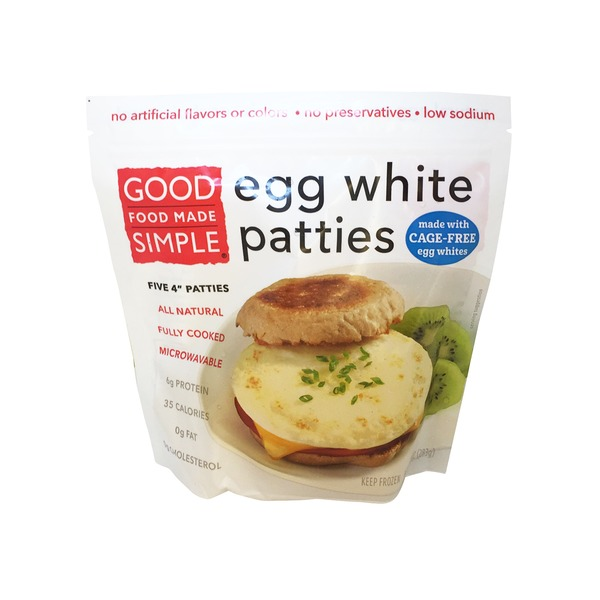 Feel Good Foods Egg White Patties