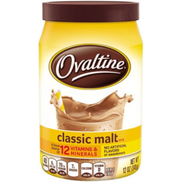 Ovaltine Classic Malt Flavored Milk Mix