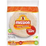 Mission® Soft Taco Flour Tortillas 17.5 oz. Bag